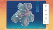 Knuckles' Monster Truck database