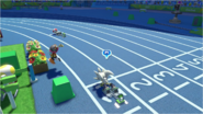 Mario & Sonic at the Rio 2016 Olympic Games - Team Silver VS Team Toad 4x100m Relay