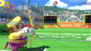 Mario & Sonic at the Rio 2016 Olympic Games - Wario Archery