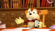 S1E32 Fastidious Beaver library