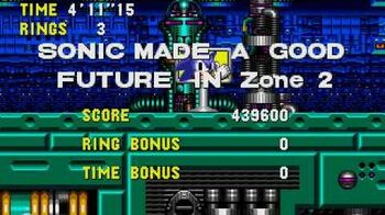 Sonic CD Stage 7 - Metallic Madness Zone