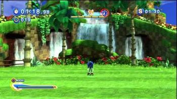 Sonic Generations Request - Tails vs Modern Sonic in Green Hill Zone