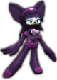 Sonic Rivals 2 - Rouge the Bat costume 1