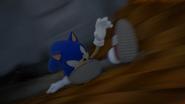 Sonic Slide SG intro