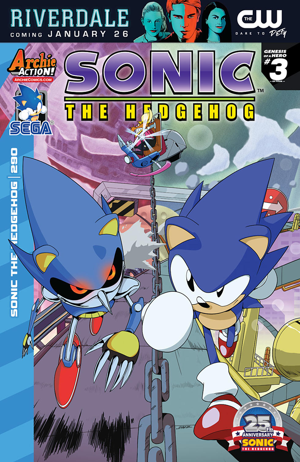 Image result for archie sonic issue 290