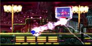 Eggman reviviendo a Metal Sonic