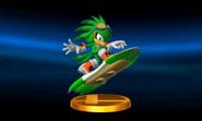 Smash 4 3DS Trophy Screen 20
