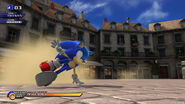 SonicUnleashedSonicDrift