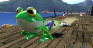 Sonic & Sega All Stars Racing Giant Froggy