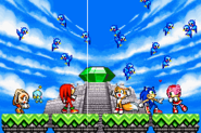 Sonic Advance 3 AE ending