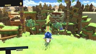 Sonic Forces Lost Valley 1080 HD