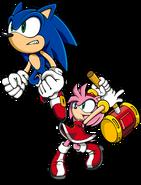 Sonic i Amy