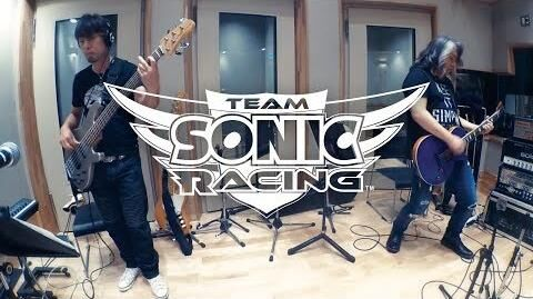 Team Sonic Racing - Making of the Music - Part 1