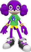 SF Avatar Costume Sanic