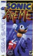 Sonic X-treme cover 2