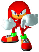 Sonicheroes knuckles early