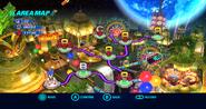 Tropical Resort Wii mapa