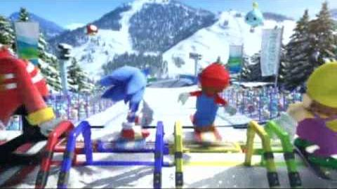 Mario & Sonic at the Olympic Winter Games Intro video