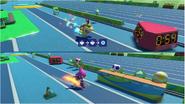 Mario & Sonic at the Rio 2016 Olympic Games - Bowser Jr. VS Espio Triple Jump