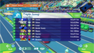 Mario & Sonic at the Rio 2016 Olympic Games - Triple Jump Competitors