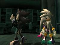Mephiles y Silver - Sonic 2006