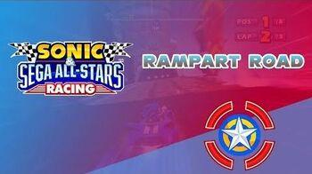 Rampart Road - Sonic & Sega All-Stars Racing