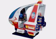 SegaSonic Cosmo Fighter cabinet
