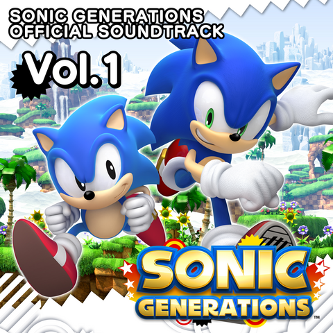 File:Sonic Generations Official Soundtrack Volume 1.png