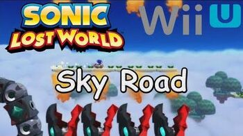 Sonic Lost World - Sky Road Trailer