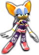 Sonic Rivals 2 - Rouge the Bat costume 3