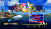 Sonic and Sega All Stars Racing character select 05