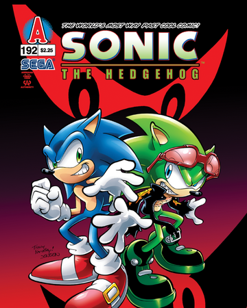 Archie Sonic The Hedgehog Issue 192 Sonic News Network Fandom