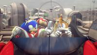 Tails sonic riders zero gravity