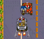 Waku Waku Sonic Patrol Car 10