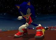 Xmastheme Sonic