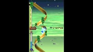 DesMuMe - Sonic Rush Adventure Sky Babylon, Sonic - Act 2