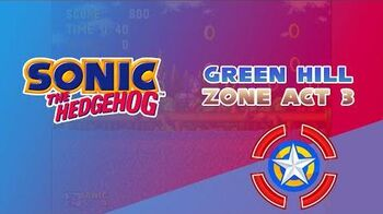 Green Hill Zone Act 3 - Sonic the Hedgehog 1