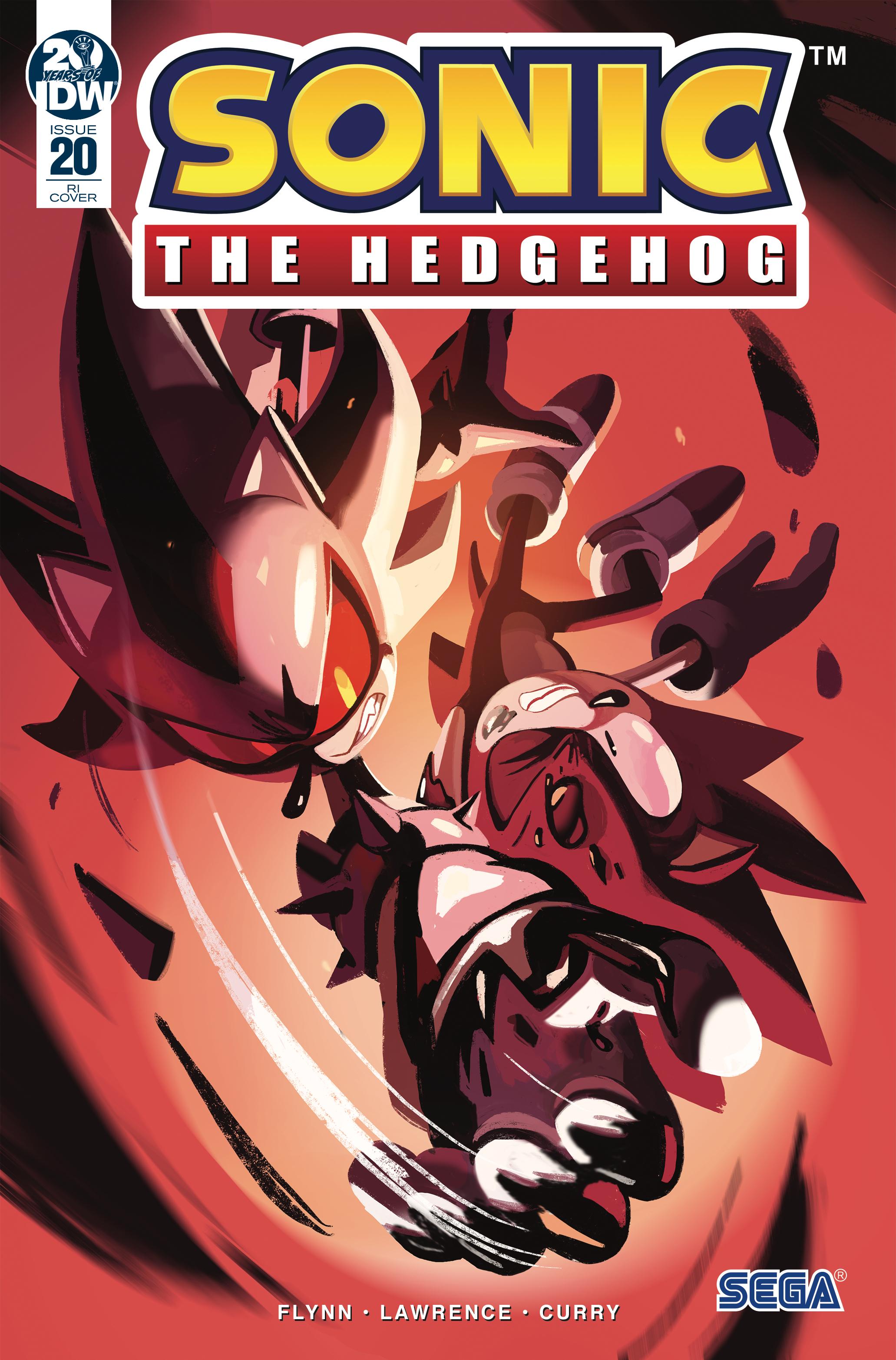 Idw Sonic The Hedgehog Issue 20 Sonic News Network Fandom