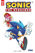 IDW Sonic 2 2nd print