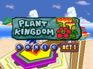 Plant Kingdom Act 1 Sonic title card