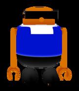 SASASR Character Model Bonanza Bros Mobo