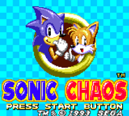 Sonic Chaos GG title