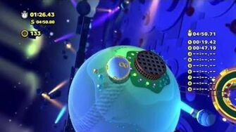 Sonic Lost World - Wii U - Frozen Factory Zone 2 and Zeena Boss Battle