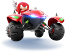 Sonic Racing Knuckles