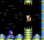 Sonic finds Tails