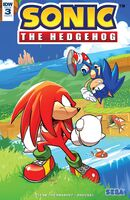 IDW Sonic the Hedgehog Issue 3