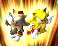 Super Sonic & Super Shadow