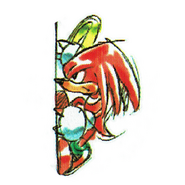 Chaotix Knuckles Manual 1