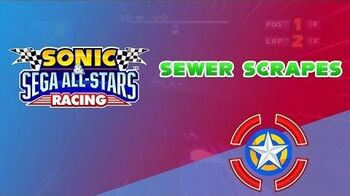 Sewer Scrapes - Sonic & Sega All-Stars Racing