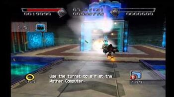 Shadow the Hedgehog Stage 6-1 GUN Fortress (Dark Mission no com)
